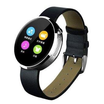 DM360 Waterproof Sport Bluetooth 4.0 Smart Watch Phone Heart Rate Voice Control (Silver) (Intl)
