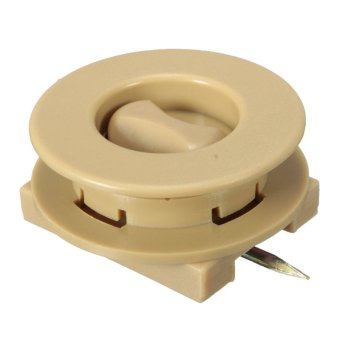 Car Mat Carpet Clips Fixing Grips Clamps Floor Holders Sleeves Premium Beige - Intl