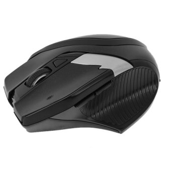 2.4GHz Wireless Optical Mouse with Embedded USB Receiver (Black)
