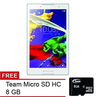 Tablet Lenovo Tab 2 A8-50 - Pearl White - Free Team Micro SD Class 10 8Gb