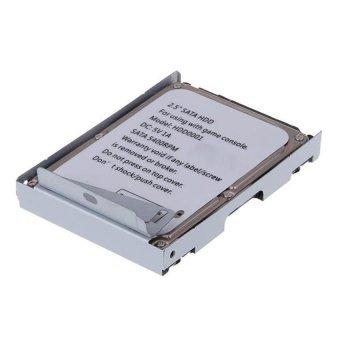 Generic Super Thin Hard Disk HDD with Bracket for 500GB Playstation 3 - Intl