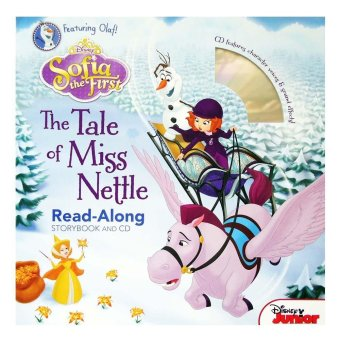 Genius Buku Anak Disney Sofia The First The Tale Of Miss Nettle Read-Along Storybook And CD