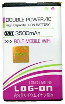 Log On Battery For Bolt Mobile Wifi (ZTE) terpercaya