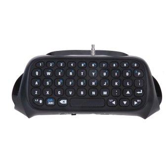 Mini Bluetooth Chatpad Keypad for PS4 (Black) (Intl)