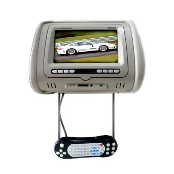 Rodek RDU-7008D - 7-Inch TFT LCD Headrest Multimedia Player - Grey
