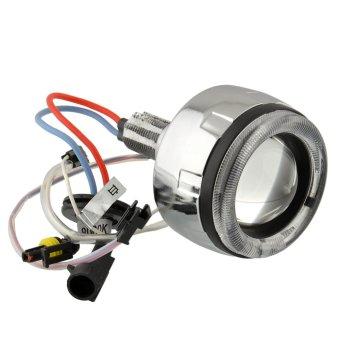 BI-XENON HID KIT Angel Eye Led Light Bulb Lamp Projector