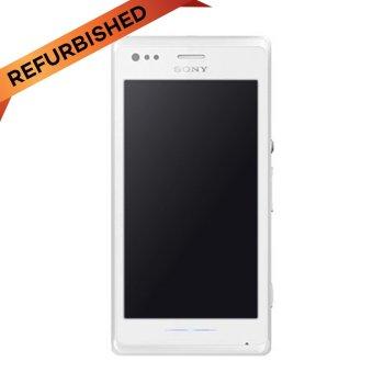 Refurbished Sony Xperia M C2005 Dual Sim - 4 GB - Putih - Grade A