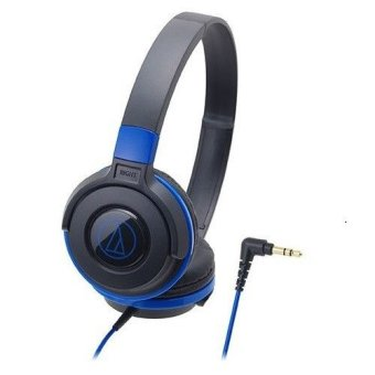 Audio-technica ATH-S100/BBL Portable Headphone Blue