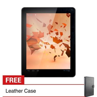 Treq Book 3G - 4GB - Biru + Gratis Leather Case