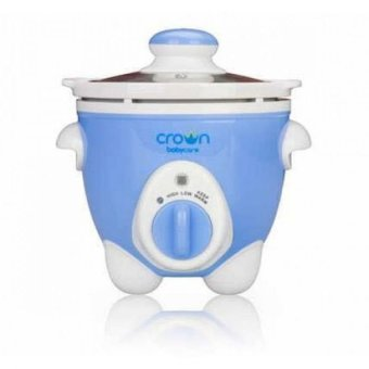 harga Crown Slow Cooker Blue-Untuk Makanan Bayi /Manula Lazada.co.id