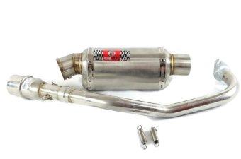 harga Home Racing Knalpot Set Untuk Yamaha Mio - Xeon MX 125 Lazada.co.id