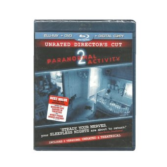 Paramount Pictures Paranormal Activity 2 Blu-ray Unrated Director's Cut