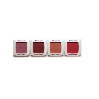 City Color HD Blush - Warm Marsala