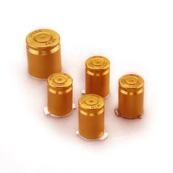 Generic Aluminium Alloy Custom Controller Bullet ABXY Guide Buttons for XBOX 360 - Intl