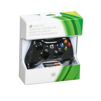 Microsoft Stik Xbox 360 Wireless Original Hitam