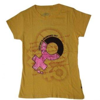 Miss Scarlet kaos wanita BB-Kuning