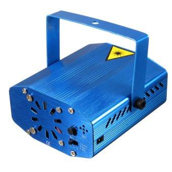 S & F Mini Laser Lampe Projecteur Xmas Lumiere Eclairage Telecommande EU (Blue) (Intl)