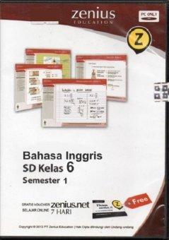 Zenius Set CD SD Bahasa Inggris Kelas 6 semester 1