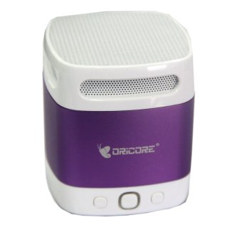 Oricore S12i Portable Speaker Bluetooth V 4.0 + EDR - Roland Purple