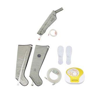 SEVEN LINER Zam-03 Air Circulation Pressure Massager ( Machine+Leg+Arm cuff )silver (Intl)