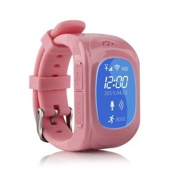 uWatch GPS Tracker Kids SmartWatch - Pink