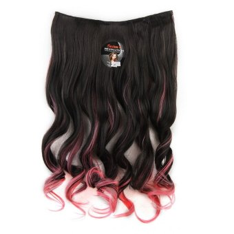 Seven 7 Revolution Hairclip Ombre Curly No 11 - Hair Clip Klip Korea