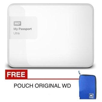 Jual Western Digital New Passport Ultra 2 TB Putih Premium + Gratis Pouch Original WD Harga Termurah Rp 2100000. Beli Sekarang dan Dapatkan Diskonnya.