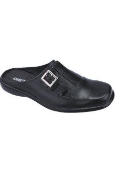 Fashionisia Sepatu Slip-On Pria - Hitam