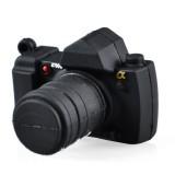 Cute Cartoon Camera Style USB 2.0 Flash Driver Disk - Black (8GB) - INTL