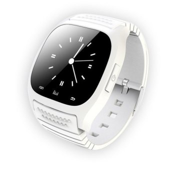 Smart Watch M26 Smartwatch sync Call for Iphone Android Phone Altimeter Thermometer Clock Relojes Smart Watch Android White (Intl)