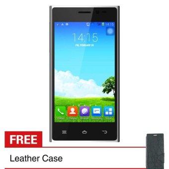Treq Tune Z2C - 4GB - Abu-abu + Gratis Leather Case