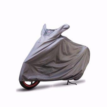 Cover Super / Sarung Motor Matic dan Bebek - Abu Abu