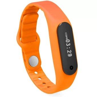 Touch Screen Smart Band Wristband E06 Bracelet(orange) (Intl)
