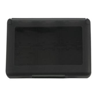 CHEER 28-in-1 Game Card Case Holder Cartridge Box For Nintendo 3DS And XL (Black) (Intl)
