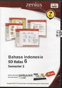 Zenius Set CD SD Bahasa Indonesia kelas 6 semester 2