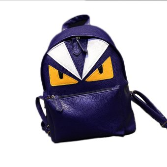 Backpacks for Women Suit to Casual or Travel with Blue Color - Intl