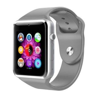Q8 Intelligent Smart Wristband Watch Grey (Intl)