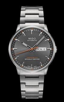 harga Mido Commander II Chronometer M021.431.11.061.01 - Jam Tangan Pria - Abu-Abu Lazada.co.id