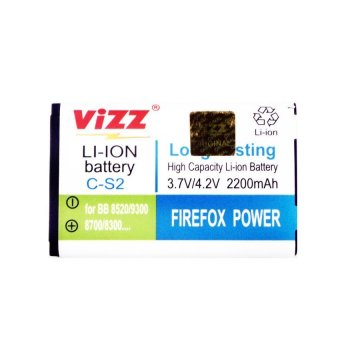 Vizz Baterai Double Power - CS2 For Blackberry Gemini Keppler Aries Jupiter Kap 2200mAh terpercaya