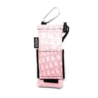 Vapejo Vapesox VS4 Light Pink Croc Personal Vaporizer Pouch (Rokok Elektrik, Ecig)