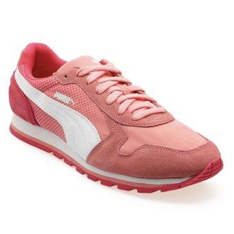 Puma ST Runner Shades Sepatu Lari - Salmon Rose Putih Geranium