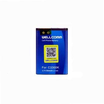 Wellcomm Battery Double IC Samsung C-3300K terpercaya