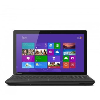 "Toshiba C55D - AMD A10-8700P - RAM 4GB - HDD 1TB - Windows 10 - 15.6"" - Hitam"