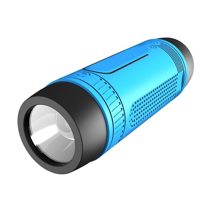 harga Outdoors Flashlight Wireless Bluetooth Center-Channel Speaker (Blue) Lazada.co.id