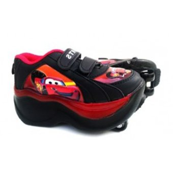 harga Fancy Kids Sepatu 4 Roda Anak Cars - Merah Lazada.co.id