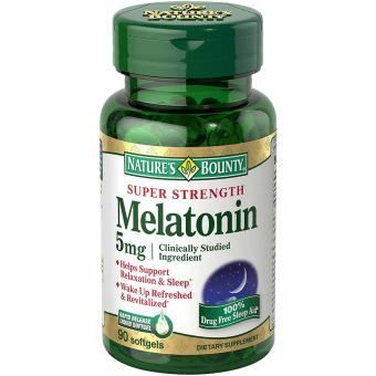 Natures Bounty Melatonin 5 mg - 90 Softgels