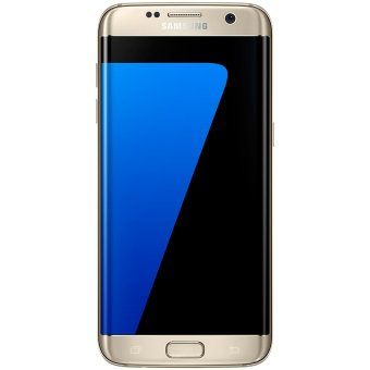Samsung Galaxy S7 Edge - 5.5 - 32GB ROM - 4GB RAM - Gold + Gratis Memory Card 128GB & 2 Casing Eksklusif
