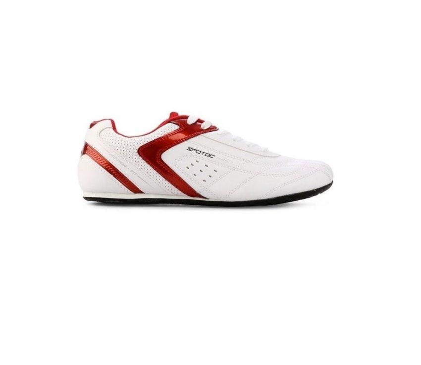 harga Spotec Victor Lace Sepatu Skate Putih Merah Lazada.co.id