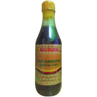 Madu Pramuka Madu Rambutan 350ml