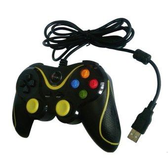 XTECH Gamepad Inferno Single XG-881S - Hitam Kuning